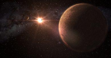 Descubren un sistema con tres exoplanetas del tamaño de la Tierra