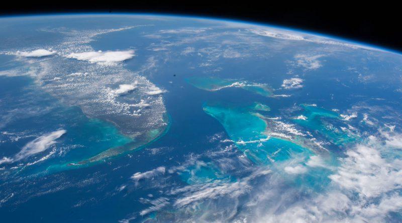 La Península de Florida y las Bahamas desde la ISS