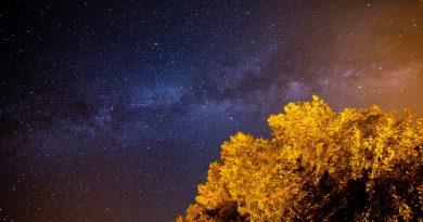La Vía Láctea fotografiada desde Kentucky, Estados Unidos