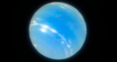 Obtienen nuevas imágenes de Neptuno utilizando un nuevo sistema de óptica adaptativa