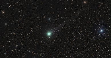 Imagen del Cometa C/2017 S3 (PANSTARRS) tomada el 19 de julio de 2018