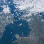 Irlanda y el Reino Unido fotografiados desde la ISS