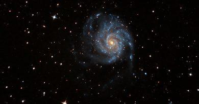 Imagen de la Galaxia Espiral M101