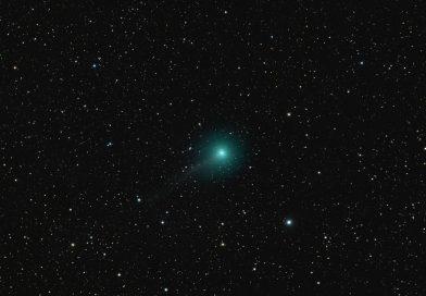 Imagen del Cometa C/2017 S3 (PANSTARRS) tomada el 18 de julio