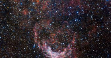 Los mares tempestuosos de la constelación de Carina