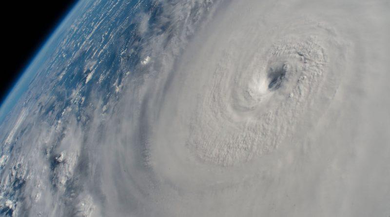 Fotografías del huracán Lane tomadas desde la ISS