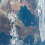 Imagen de la Península de Baja California y el Mar de Cortés desde la ISS