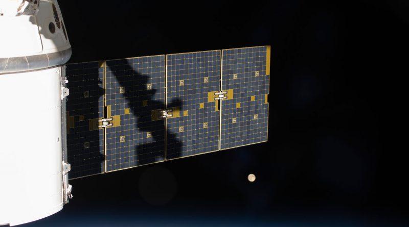 Imagen de la Luna tomada desde la Estación Espacial Internacional