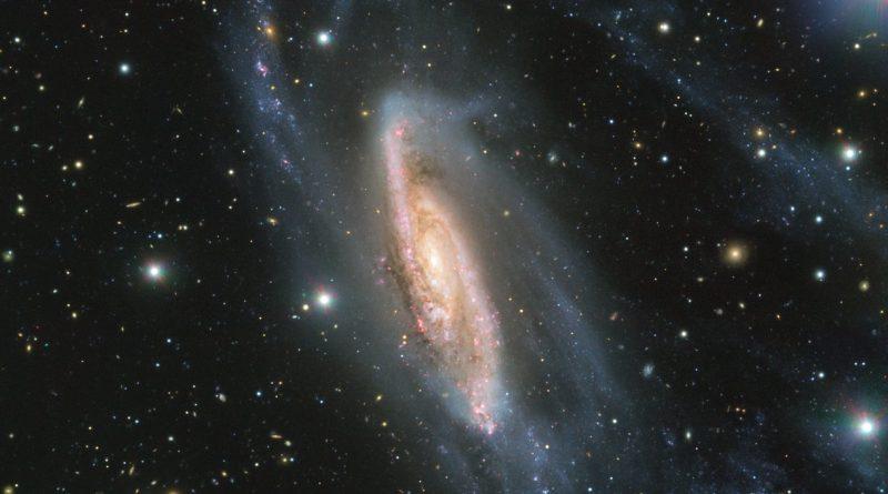 El VLT obtiene imágenes de la galaxia espiral NGC 3981