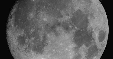 Fotografía de la Luna tomada desde Rumanía (23-septiembre)