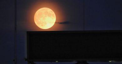 La Luna captada desde Saitama, Japón