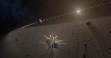 Analizan la única enana blanca conocida con fragmentos planetarios en órbita