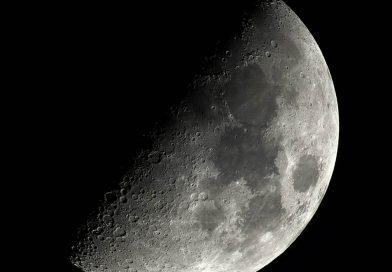 Foto de la Luna tomada desde Buckley, Estados Unidos