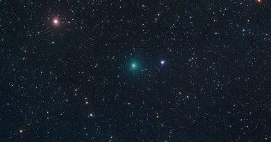 Imagen del Cometa 64P/Swift-Gehrels tomada el 14 de octubre