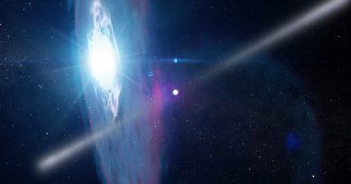 Estallidos cósmicos en un nuevo sistema binario de rayos gamma