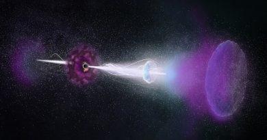 """Detectan un prolongado """"eco"""" de radio causado por el estallido de una estrella"""