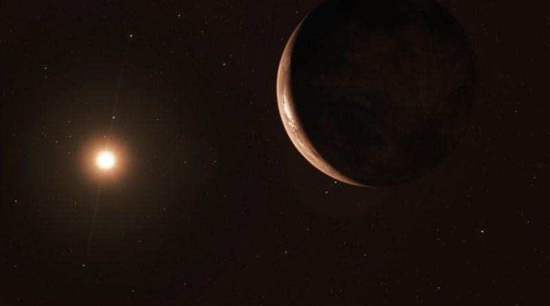 Encuentran evidencias de una supertierra orbitando a la estrella de Barnard