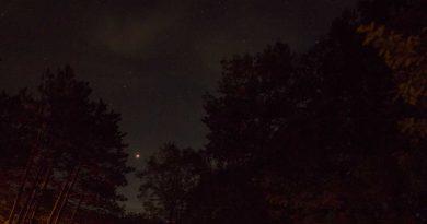 Fotografía de Marte tomada desde Míchigan, Estados Unidos