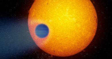 Descubren que el exoplaneta WASP-69b tiene una cola como la de un cometa