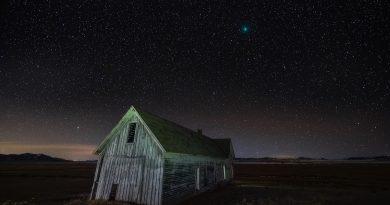 El Cometa 46P/Wirtanen fotografiado desde Colorado, Estados Unidos