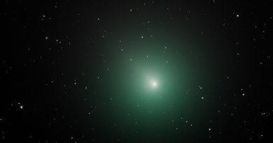 Imagen del Cometa 46P/Wirtanen tomada desde Nuevo México, Estados Unidos