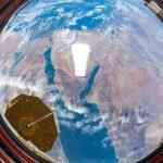El mar Rojo y la península del Sinaí fotografiados desde la ISS