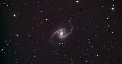 Imagen de la galaxia espiral NGC 1365 (7-diciembre)