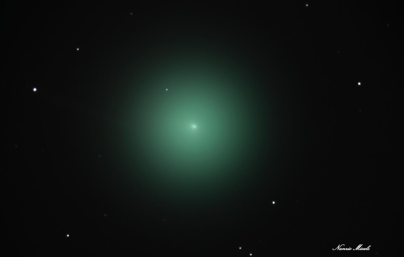 Imagen del Cometa 46P/Wirtanen tomada desde Corato, Italia