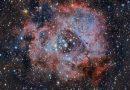 Imagen de la Nebulosa Roseta tomada el 8 de diciembre de 2018