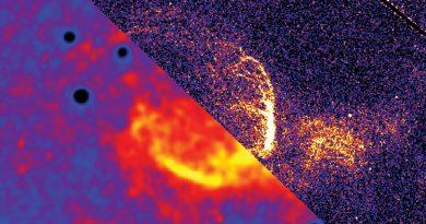 Una burbuja interestelar gigante crece en la Galaxia de Andrómeda