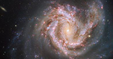 La Galaxia Messier 61, uno de los miembros más grandes del Cúmulo de Virgo