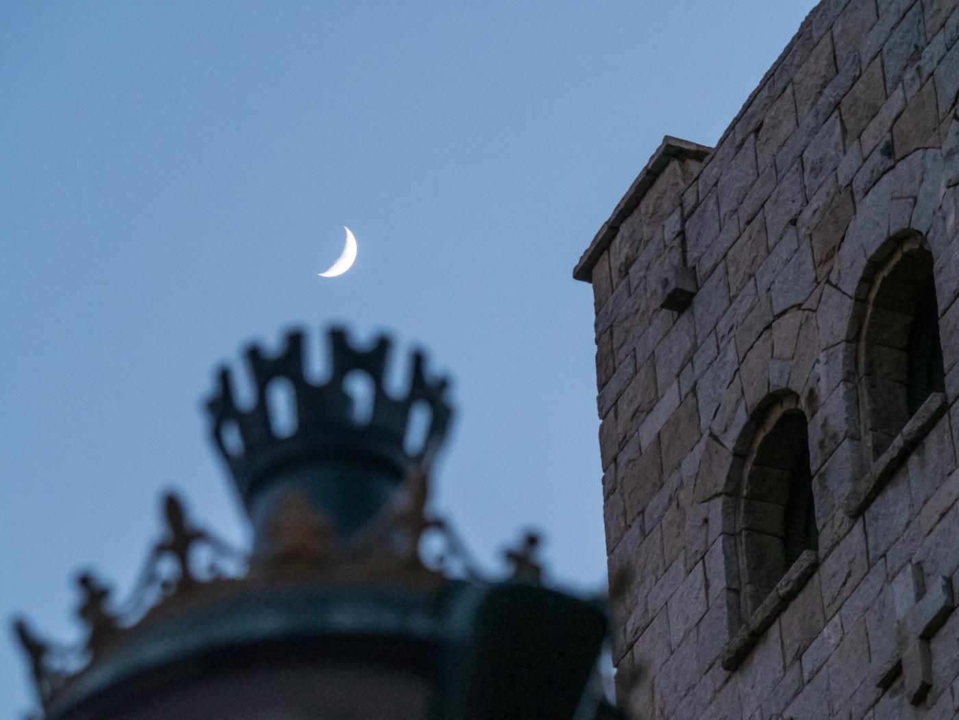 La Luna fotografiada desde Zaragoza, España – El Universo Hoy