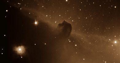 Imagen de la Nebulosa Cabeza de Caballo (Barnard 33)
