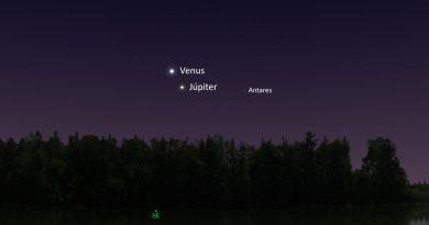 Venus y Júpiter tendrán su máxima aproximación antes del amanecer del 22 de enero