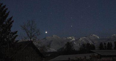 Imagen Venus tomada desde Washington, Estados Unidos