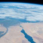 El Cairo y el río Nilo fotografiados desde la ISS