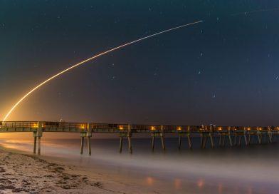 Imagen del lanzamiento del cohete Falcon 9 de SpaceX