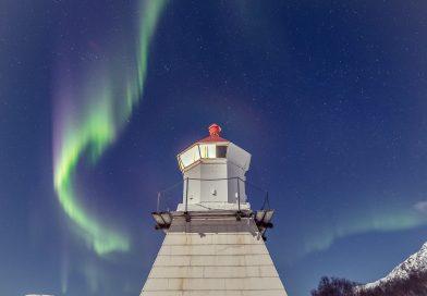 Auroras boreales fotografiadas desde Tromsø, Noruega