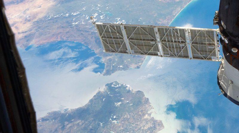 El estrecho de Gibraltar fotografiado desde la ISS