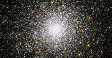 El superpoblado cúmulo globular Messier 75