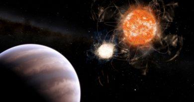 Astrónomos descubren un exoplaneta con una masa casi 13 veces mayor que la de Júpiter