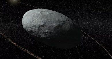 El planeta enano Haumea y su misterioso anillo