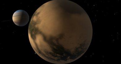Descubren una estructura de hielo en Titán, el satélite más grande de Saturno