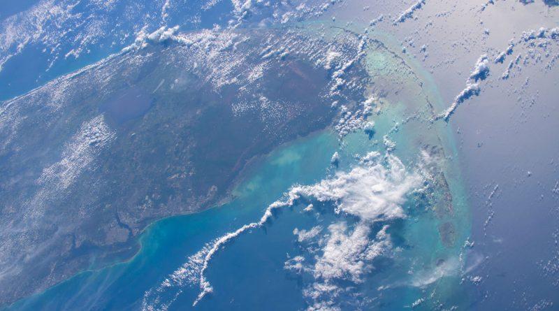 La península de Florida fotografiada desde la ISS