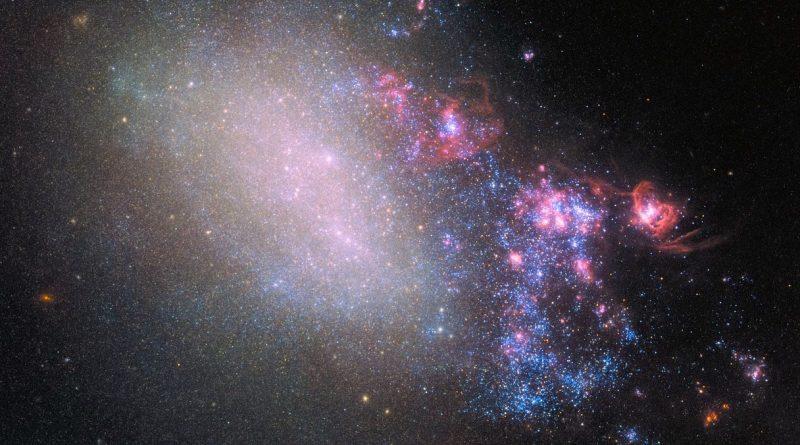 La espectacular destrucción que puede provocar una colisión galáctica
