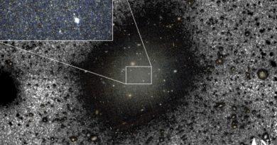 Resuelven el misterio de la galaxia sin materia oscura