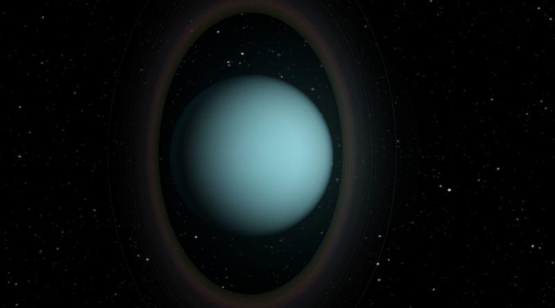 Los anillos planetarios de Urano brillan en luz fría