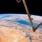 El río Nilo y el mar Rojo fotografiados desde la ISS