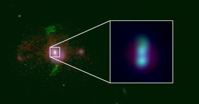 Descubren dos agujeros negros supermasivos en rumbo de colisión
