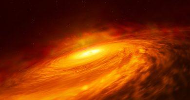 Detectan un misterioso disco de material alrededor de un agujero negro que no puede alimentarse